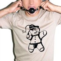 Gingerbread Daddy Tee-Brown