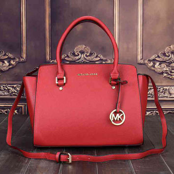 Michael Kors MK Women Shopping Bag Leather Satchel Crossbody Handbag  Shoulder Bag bfd447daf