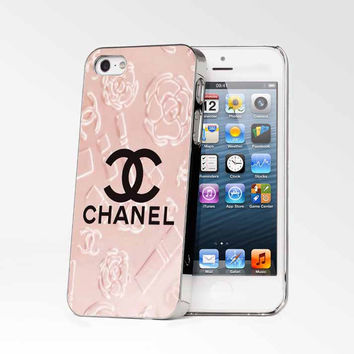 Chanel Flower iPhone 4s iphone 5 iphone 5s iphone 6 case, Samsung s3 samsung s4 samsung s5 note 3 note 4 case, iPod 4 5 Case