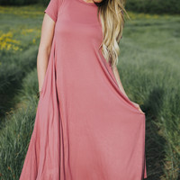 Lila Dress in Pink