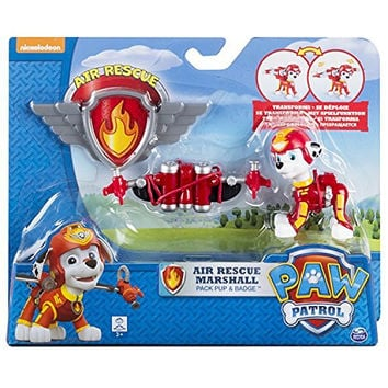 Paw Patrol, Air Rescue Marshall, Pup Pack & Badge