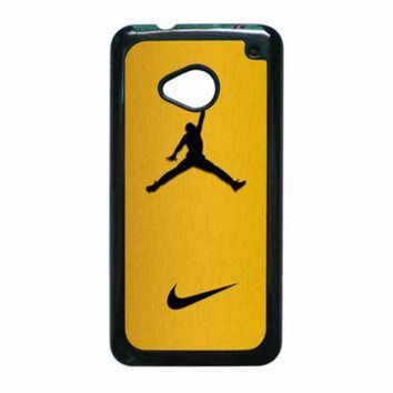 VONR3I Nike Air Jordan Golden Gold HTC One M7 Case