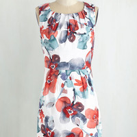 Short Length Sleeveless Sheath A Brush with Beauty Dress by ModCloth