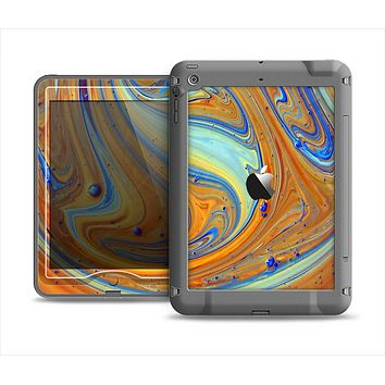 The Colorful Wet Paint Mixture Apple iPad Mini LifeProof Nuud Case Skin Set