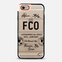 FCO - Rome, Italy - Travel The World iPhone 6 case by Love Lunch Liftoff | Casetify