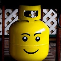 Propane Tank Lego Head » Funny, Bizarre, Amazing Pictures & Videos