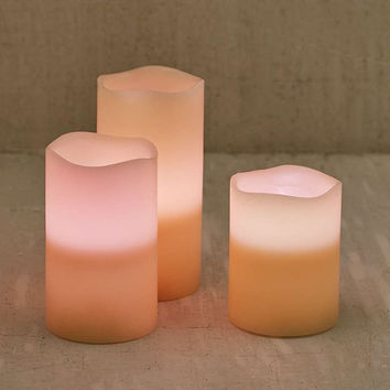 Flameless Color Candle Set - Urban Outfitters