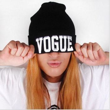 DCCKWQA new vogue women mens beanie hat,winter beanie knitted man & women beanies hip-hop hat skullies,bonnet female gorros invierno