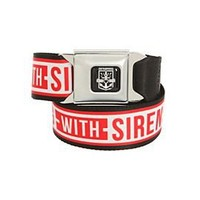 Sleeping With Sirens Anchor Seat Belt Belt - 10005155