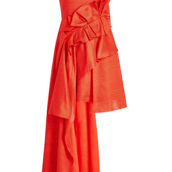 Asymmetric Dress - Delpozo | WOMEN | KR STYLEBOP.COM