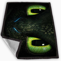 how to train your dragon dragon face Blanket for Kids Blanket, Fleece Blanket Cute and Awesome Blanket for your bedding, Blanket fleece **
