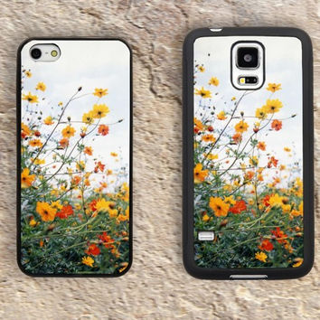 Yellow Daisy iPhone Case-Flowers iPhone 5/5S Case,iPhone 4/4S Case,iPhone 5c Cases,Iphone 6 case,iPhone 6 plus cases,Samsung Galaxy S3/S4/S5-161