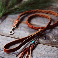 Dog & Crow Womens Blake Braided Leather Leash