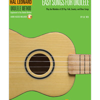 Easy Songs for Ukulele Songbook & CD