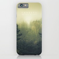 Forests never sleep iPhone & iPod Case by HappyMelvin