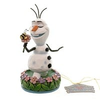 Jim Shore DREAMING OF SUMMER Polyresin Frozen Smowman Disney Season 4046037 New