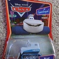 Disney Pixar Cars Yeti Brand New