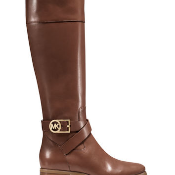 Brands | Tall | Bryce Mid-Calf Leather Boots | Lord and Taylor