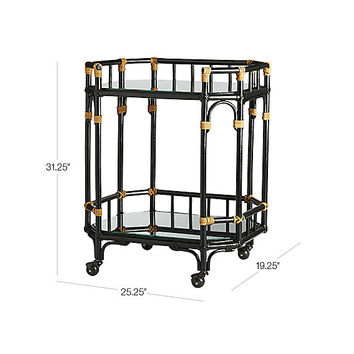 arabella bar cart