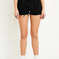 Vintage Renewal Levi's Raw-Cut Shorts in Black - Urban Outfitters