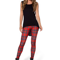 Tartan Red Toasties