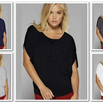 Bella Flowy Circle Tee - S-2XL