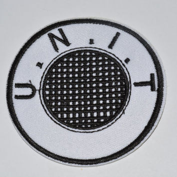 Dr Who UNIT NEW LOGO Task Force 50th Anniversary Patch