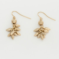 Spike Cluster Drop Earrings