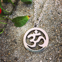 Om Chain Necklace