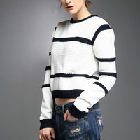 That's More Like It Color Block Sweater TP0471