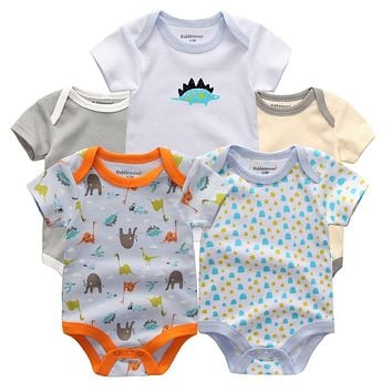 Baby rompers kids pajamas baby girls kids newborn infants wear clothing