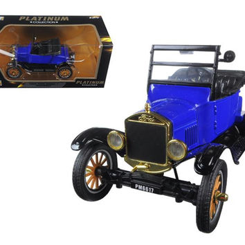 1925 Ford Model T Runabout Blue 1-24 Diecast Model Car by Motormax