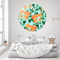 «Summer Bloom», Limited Edition Disk Print by Uma Gokhale - From $99 - Curioos