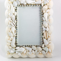 Beach House Decor - Shell Picture Frame