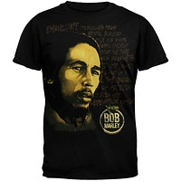Bob Marley - Redemption Black T-Shirt