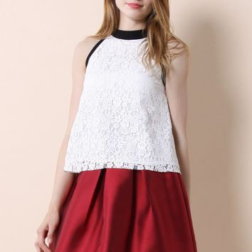 Back in Charm Lace Top