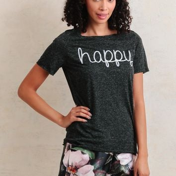 Happy Graphic Tee | Ruche