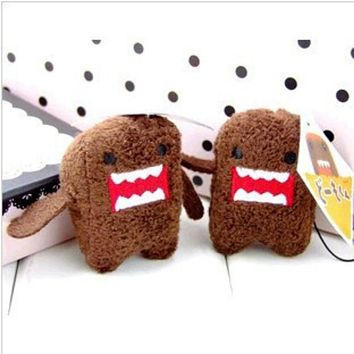 1pcs Japan Anime Cute Plush Accessories Wedding Present Toys Domo KUN Plush Stuffed Small Pendant for Kids Birthday Gifts