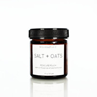 Salt + Oats Foot Scrub