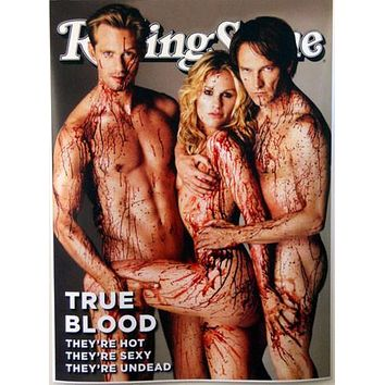 True Blood Rolling Stone Poster Standup 4inx6in