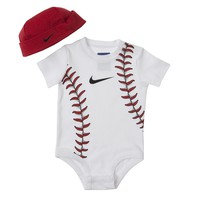 Nike Baseball Creeper & Hat Set - Baby, Size: