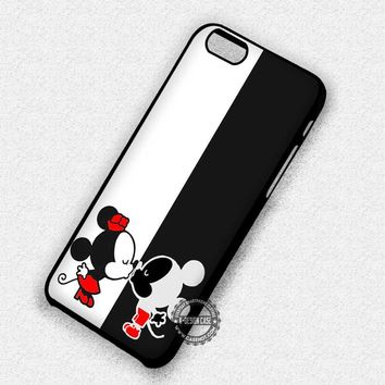 Couple Kissing Mouse Animal Disney - iPhone 7 6 5 SE Cases & Covers