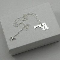 Maryland Necklace - Sterling Silver