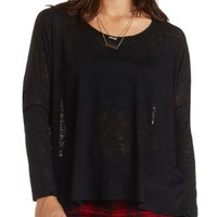 Oversized Dolman Sleeve Top by Charlotte Russe