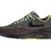 "Nike Air Max 1 BHM ""Black History Month"" 2012 Mens Running Shoes Midnight Fog/Black-Dark Copper 521299-090"