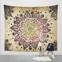 Blackberry Burst Wall Tapestry by Jenndalyn | Society6
