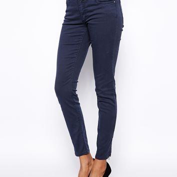 Monki Zip Detail Jean