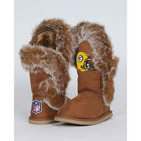 Women's Cuce Shoes Green Bay Packers Fanatic Boots