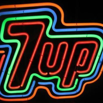 7 UP Cup Neon Sign Real Neon Light
