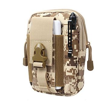 DCCKL72 New Tactic Molle Waist Bags Waterproof Men Casual Waist Pack nylon Work Waist Bag Army Military Small bags